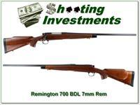 Remington 700 BDL 7mm Rem Mag Exc Cond