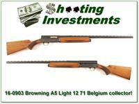 Browning A5 Light 12 71 Belgium VR Collector!
