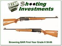 Browning BAR First Year 67 Belgium Grade II 30-06!