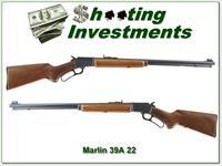 1985 made Marlin 39A Golden 22LR JM marked pre- safety 24in Exc Cond!