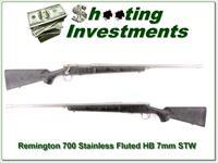 Remington 700 Sendero 7mm STW Stainless Fluted