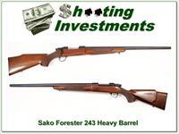 Sako Forester 243 hard to find Heavy Barrel Exc Cond