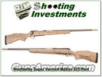 Weatherby Mark V Super Varmintmaster 223 Rem looks new!