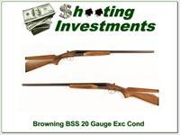 Browning BSS 20 Gauge 26in Mod and IC