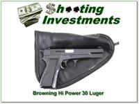Browning Hi-Power 30 Luger Exc Cond