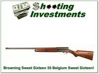 Browning A5 Sweet Sixteen 55 Belgium Exc Cond!