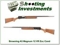 Browning A5 12 Magnum 30in VR Exc Cond!