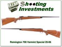 Remington 700 Varmint Special early 25-06