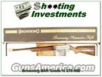 Browning BAR full Belgium Grade IV NIB 270!