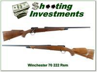 Winchester Model 70 1976 RARE 222 Rem collector!
