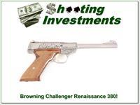 Browning Challenger Renaissance 72 6.5in Belgium RARE!