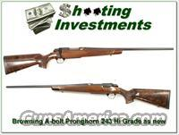Browning A-bolt Hi-Grade Pronghorn 243 1 of 500!