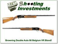Browning Double Auto 66 Belgium VR Blond!