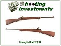 Springfield Armory M2 22 Training Rifle 1942