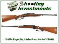 Ruger No.1 375 H&H Safari Club International 1 of 60