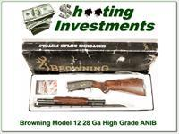 Browning Model 12 High Grade 5 28 Gauge ANIB