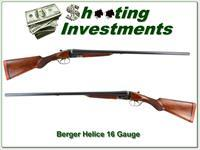 Berger Helice 16 Gauge lightweight SxS bird gun