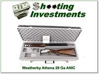 Weatherby Athena 28 Gauge unfired NIC!