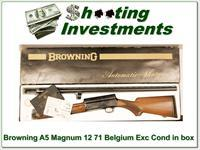 Browning A5 Magnum 12 71 Belgium in box!