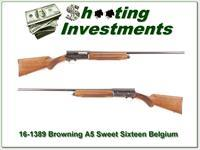 Browning A5 Sweet Sixteen 1954 28in Cylinder barrel