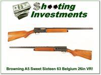 Browning A5 Sweet Sixteen 63 Belgium 26in IC VR
