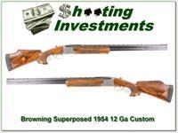 Browning Superposed Grade 4 1954 Belgium 30in