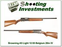 Browning A5 Light 12 65 Belgium 26in IC!