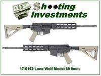 Lone Wolf G9 Glock 9mm AR rifle