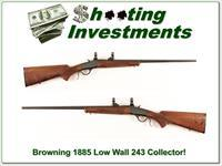 Browning 1885 Low Wall 243 near new!