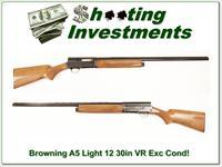 Browning A5 Light 12 30in VR Nice!