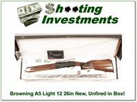 Browning A5 Light 12 26in Invector Plus NIB!