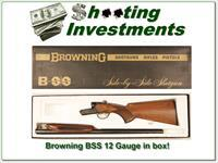 Browning BSS 12 Gauge 26in in box