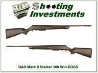 Browning BAR Stalker 300 Win Mag with BOSS!