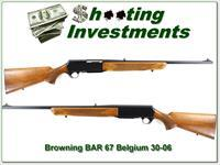 Browning BAR first year 1967 Belgium Blond 30-06