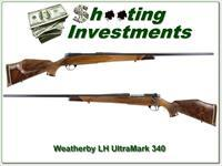 Weatherby Mark V Ultramark LH 340 Wthy XX Wood!