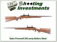 Sako Finnwolf harder to find 243 Bofers Steel!