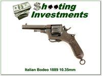 Italian Bodeo Model 1889 Revolver in 10.35 mm
