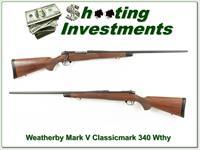 Weatherby Mark V Classicmark 340 Mag Magnum