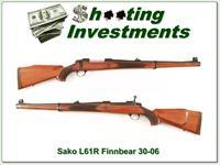 Sako L61R Finnbear 30-06 Carbine Mannlicher as new!