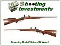 Browning Model 78 6mm XXX Wood!