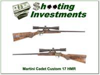 Martini Cadet custom Left Handed 17 HMR Custom XXX beauty!