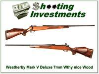 Weatherby Mark V Deluxe 7mm Wthy Mag 26in