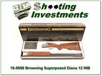 Browning Superposed Diana Grade Lightning Trap NIB!