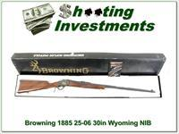 Browning 1885 25-06 30in barrel Wyoming Centennial!