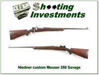 Niedner Rifle Corporation custom Mauser 250 Savage!