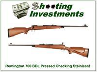 Remington 700 BDL Pressed Checkering early Stainless 7mm