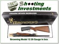 Browning Model 12 20 nice wood ANIB