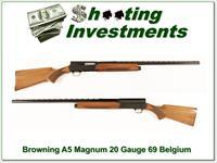 Browning A5 20 Magnum 69 Belgium VR Modified