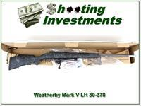 Weatherby Mark V LH Accumark 30-378 NEW!