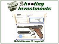 Mauser Luger Interarms 30 caliber 6in NIB!